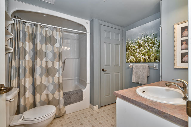 Bathroom with In Suite Laundry